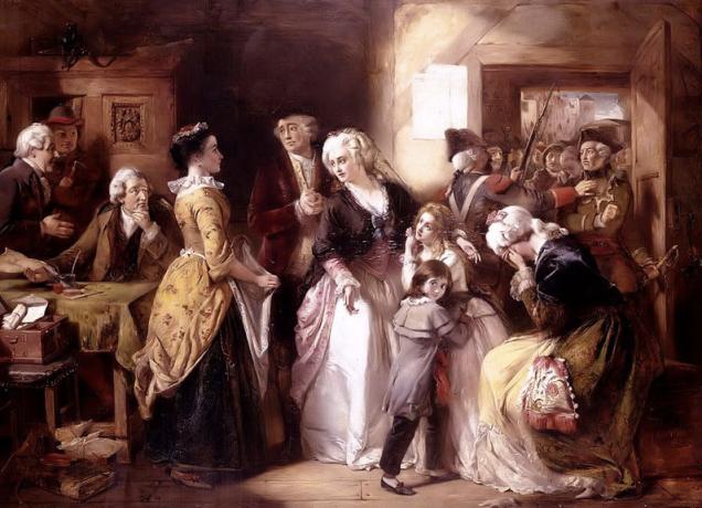 recaptured in Vareness after fleeing the Tuileries on June 20,1791