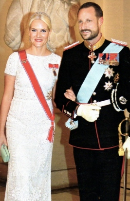 crown prince haakon & princess mette marit