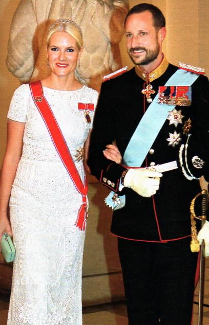 crown prince haakon & princess mette marit