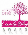 "the ""one lovely blog"" award"