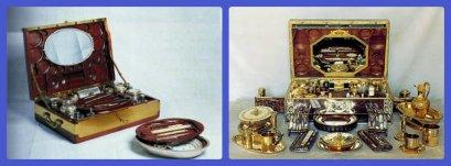 les nécessaires de Marie Antoinette et Josephine Bonaparte