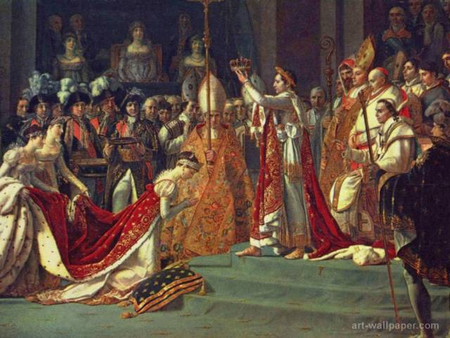 Annointing of Napoleon I and Coronation of Empress Josephine