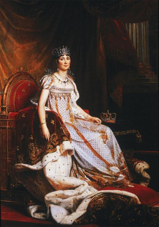 Coronation Painting of Empress Josephine