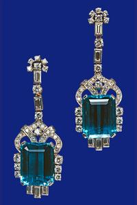 Attack of the Brooches! Brazilian Aquamarine Brooch (and Bracelet) (4/6)