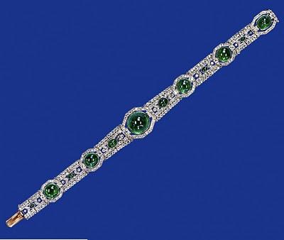 delhi durbar choker (cambridge emerald choker)