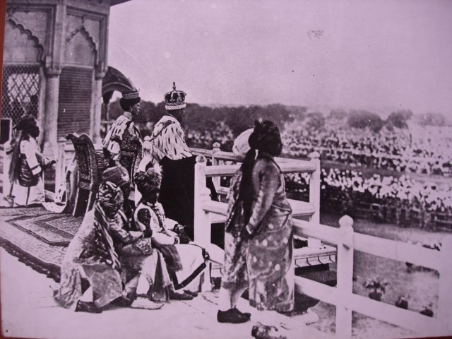 Delhi Durbar 1911 - the coronation of the Emperor & Empress of India