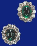 Cambridge Emerald Earrings