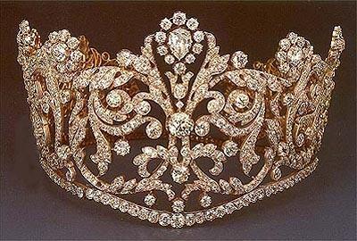 Princess Grace in Empress Josephine's Coronation Tiara (2/6)