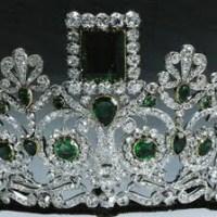 Tiara Time! Joséphine's Emerald Parure