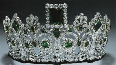 Empress Josephine's Emerald Tiara and Parure