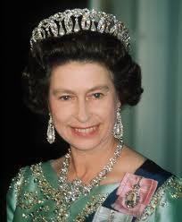 Elizabeth II in Vladimir Tiara in Pearls