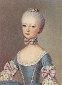 marie antoinette 1762 age 7