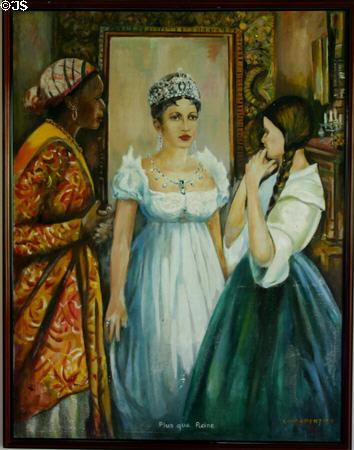 josephine's coronation tiara painting