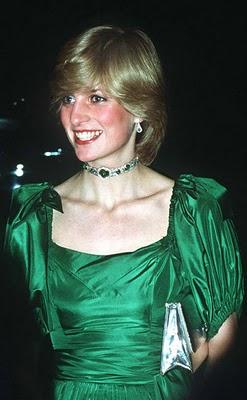 Delhi Durbar Choker on Princess Diana 1982