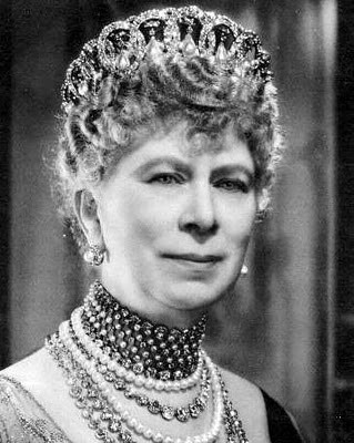 Queen Mary in the Grand Duchess Vladimir Tiara