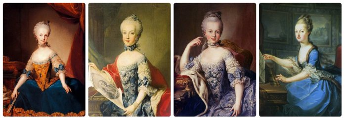 marie antoinette and her older sister maria carolina