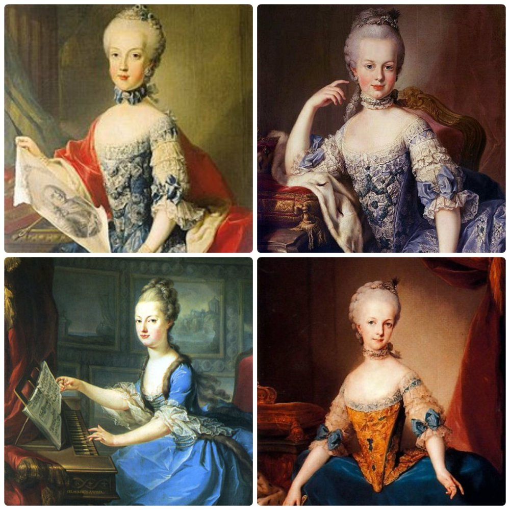 Can you tell Marie Antoinette and her sister apart?
