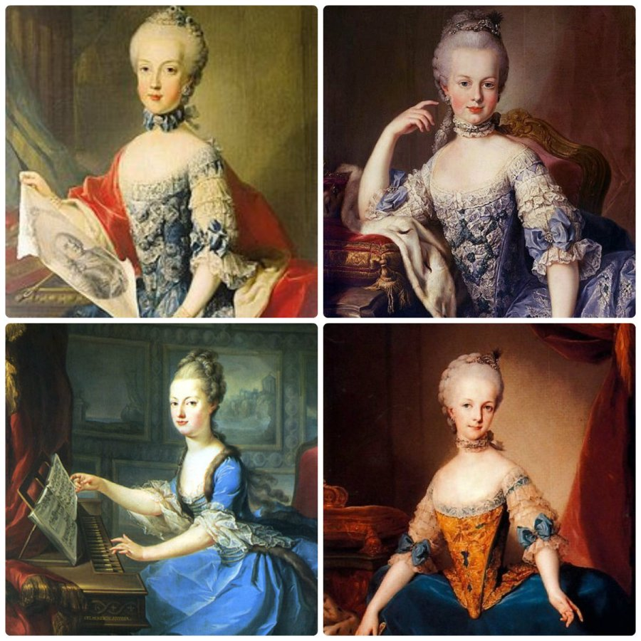 marie antoinette and her sister maria carolina