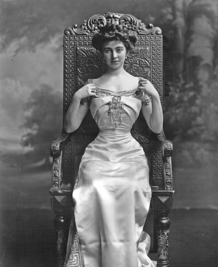 Constance Edwina Cornwallis West, duchess of westminster