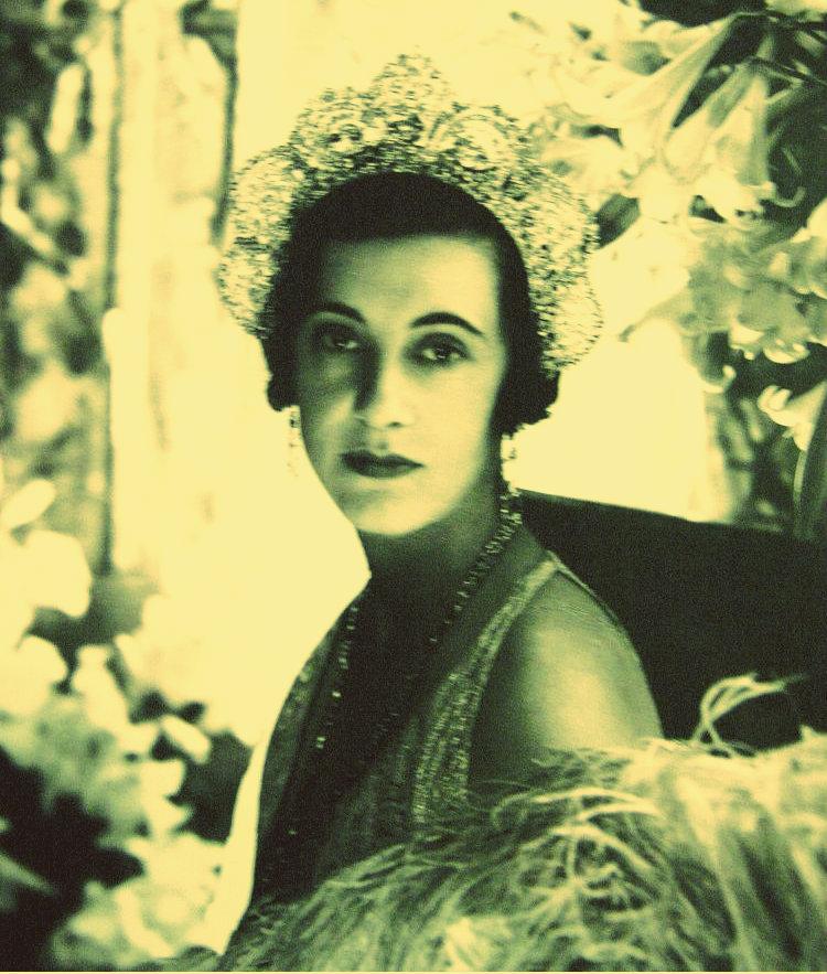 duchess of westminster loelia diamond halo tiara