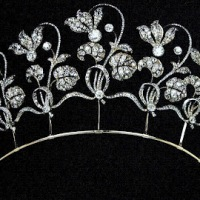 Fabergé Cyclamen Tiara (Westminster Collection Theme Week)