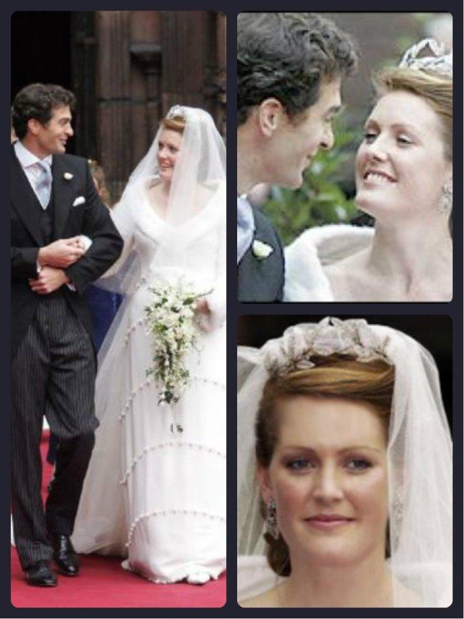 Lady Tamara Grosvenor and Edward van Custem Wedding 2006