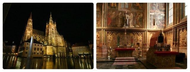 St. Vitus Cathedral, Prague, containing St. Wenceslas Chapel