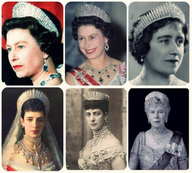 queen alexandra kokoshnik