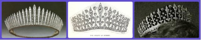 Queen Mary's Fringe and the County of Surrey Fringe Tiaras