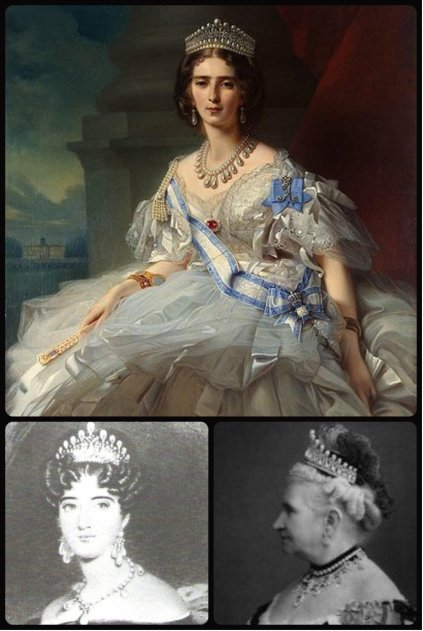 Princess Tatiana Yusupova, Princess Augusta and Grand Duchess Augusta Caroline, all inspired the Cambridge Lover's Knot Tiara