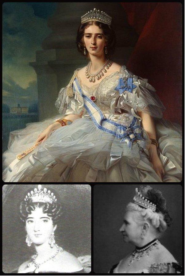 Princess Tatiana Yusupova, Princess Augusta and Grand Duchess Augusta Caroline, all inspired the Cambridge Lover's Knot Tiara