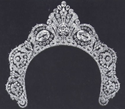 westminster halo tiara
