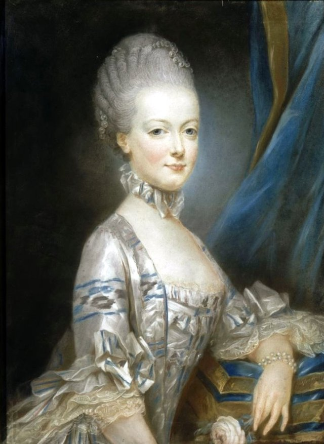 1769 Marie Antoinette by Joseph Ducreux