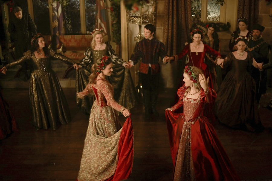 Anne of Cleves and new Queen Katherine dance at Christmas