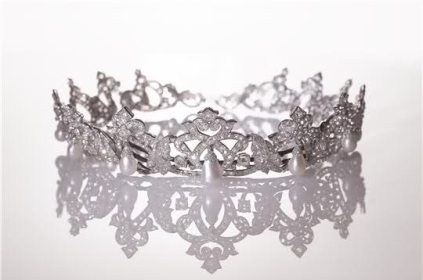 Cartier Diamond and Pearl Tiara of Monaco
