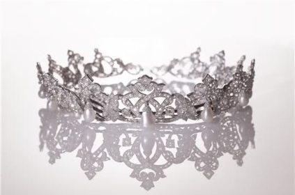 Cartier Diamond and Pearl Tiara of Monaco