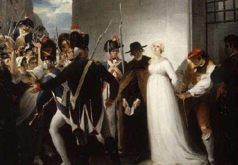 marie antoinette led to execution