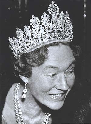 grand duchess charlotte of luxembourg in the Empire tiara