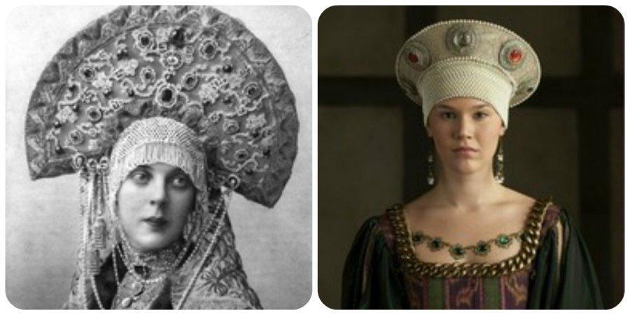 "Grand Duchess Xenia and Joss Stone: Kokoshniks in ""the Tudors""?"