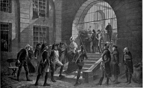 Marie Antoinette Going To Execution
