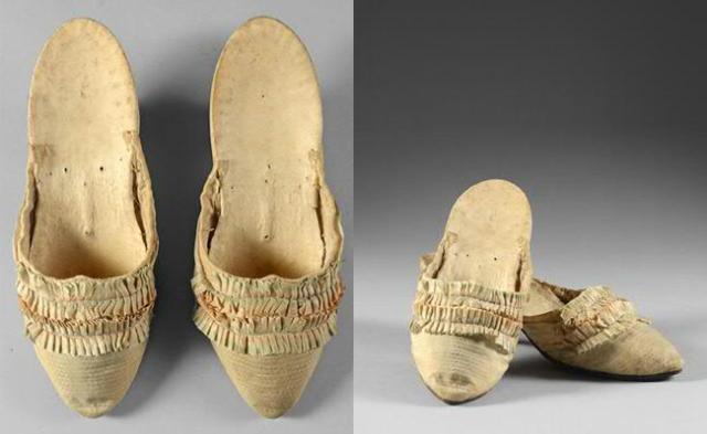 marie antoinette's shoes