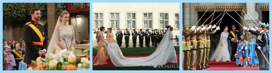Prince Guillaume Countess Sophie wedding