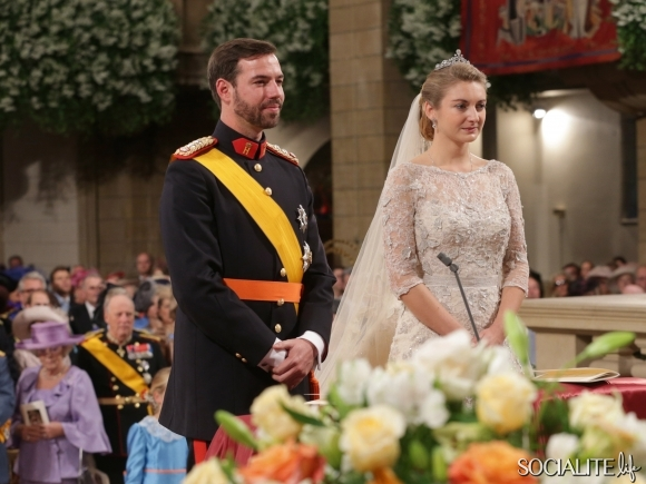Prince Guillaume Countess Stephanie De Lannoy Royal Wedding Luxembourg October 20 2012