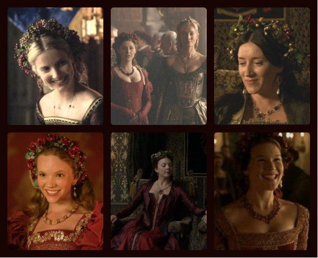 yuletide chaplets - the Tudors