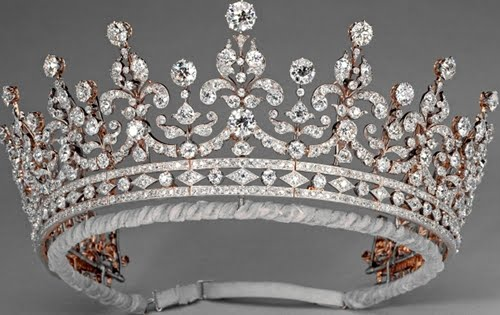 Girls of GB & Ireland tiara