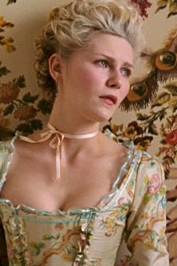 Marie Antoinette is distressed Kirsten Dunst Film