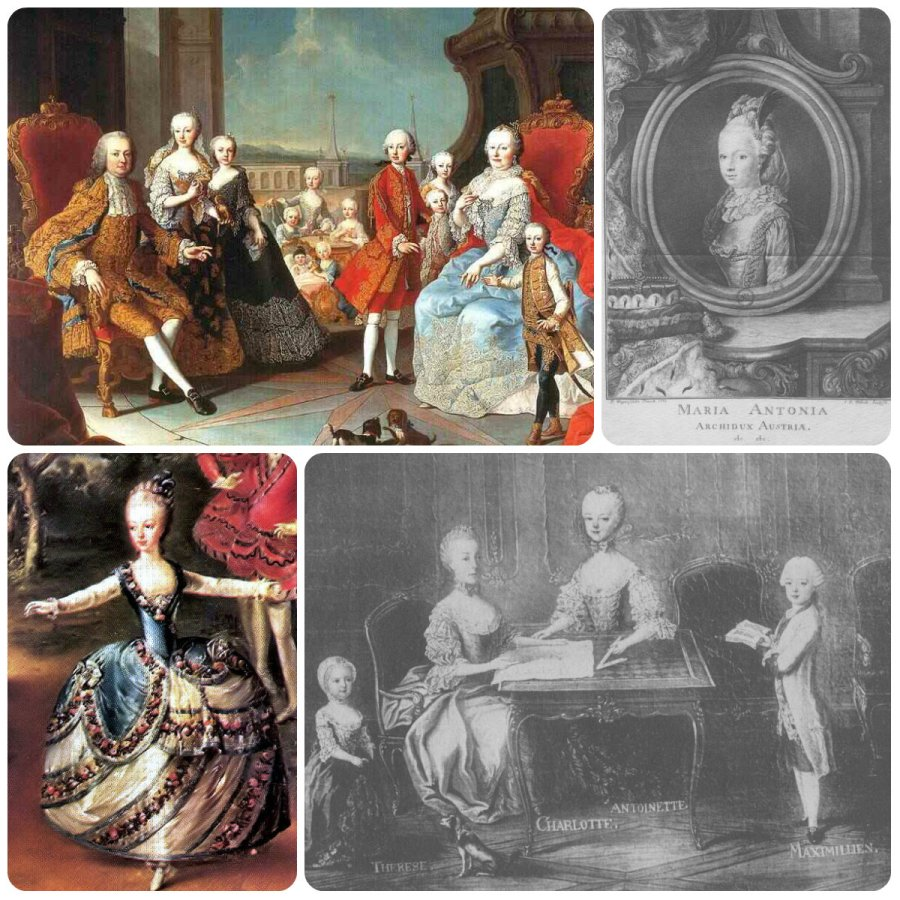 maria teresa's children, the archdukes & archduchesses of Austria