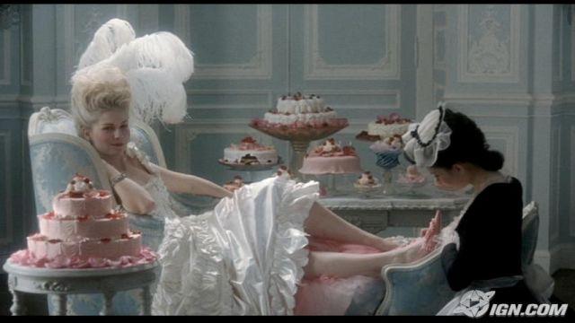 pedicure from film Marie Antoinette kirsten dunst
