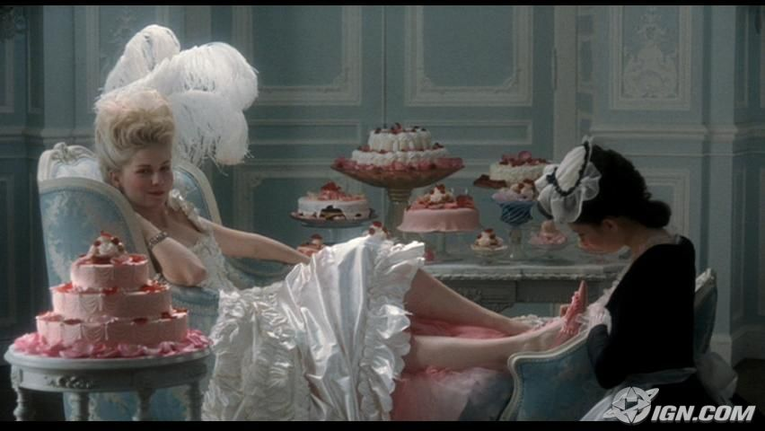 pedicure from film Marie Antoinette kirsten dunst