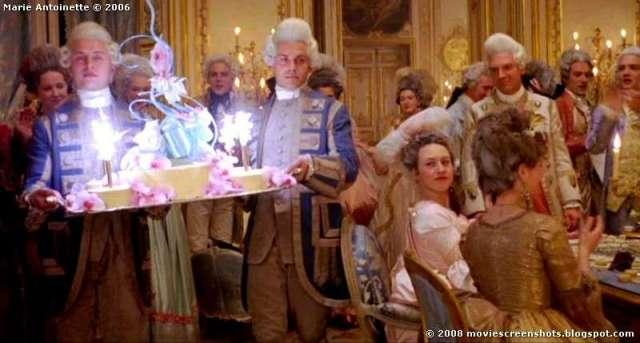 Marie Antoinette Film big cake